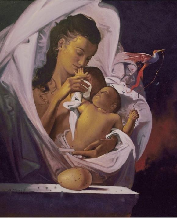 PRESOTTO-serigrafia-60x80-nascita1
